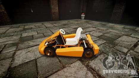 Karting для GTA 4 вид сзади