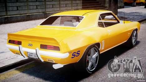 Chevrolet Camaro для GTA 4 салон