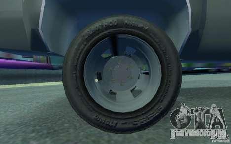 Chevrolet Silverado для GTA 4 вид изнутри