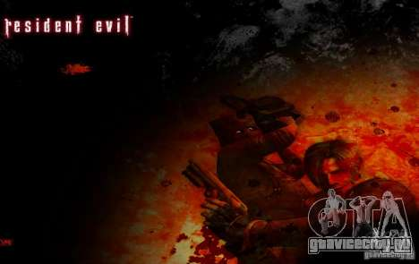 Пак персонажей из Resident Evil для GTA San Andreas