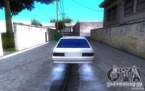 ВАЗ 2114 LT для GTA San Andreas вид сзади слева