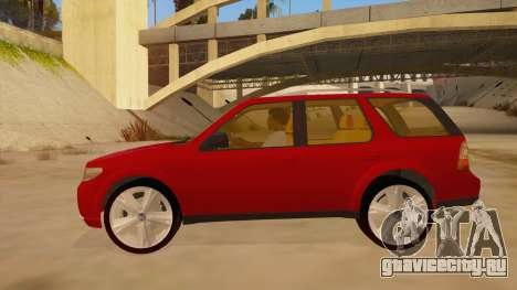Saab 9-7X для GTA San Andreas вид слева