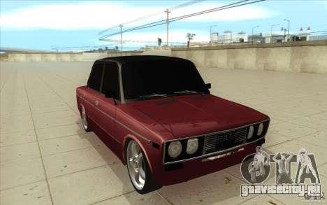 ВАЗ-2106 Lada для GTA San Andreas вид сзади