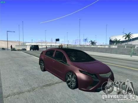 Opel Ampera 2012 для GTA San Andreas вид сбоку