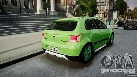 Volkswagen Gol Rallye 2012 v2.0 для GTA 4 вид сбоку