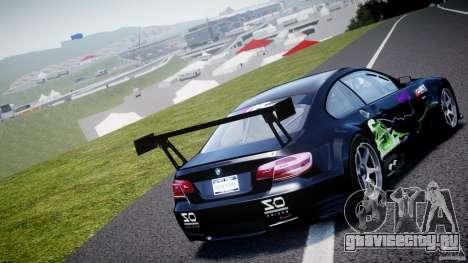 BMW M3 GT2 Drift Style для GTA 4 вид сзади слева