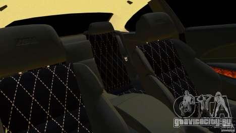 BMW M6 2010 для GTA 4 вид сзади
