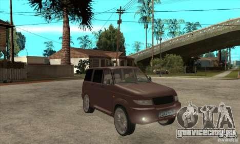 УАЗ Patriot для GTA San Andreas вид изнутри