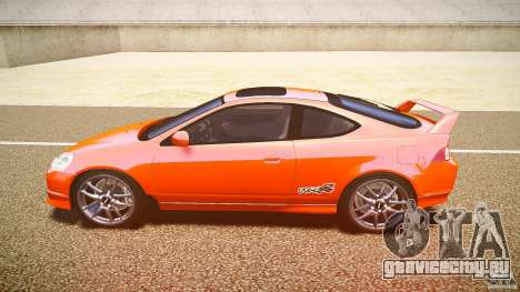 Acura RSX TypeS v1.0 stock для GTA 4 вид слева