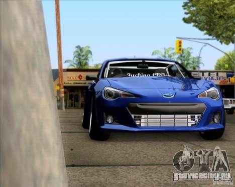 Subaru BRZ Stance для GTA San Andreas вид справа