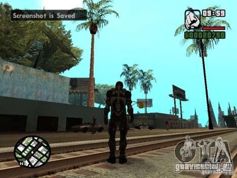 Crysis Nano Suit для GTA San Andreas пятый скриншот