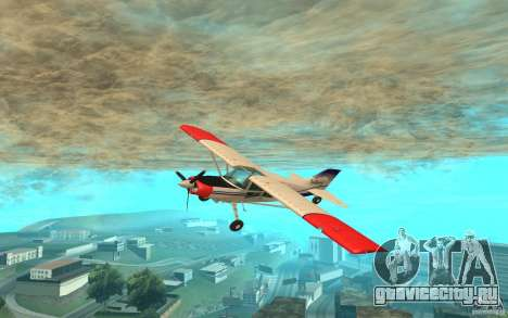 Maule Orion для GTA San Andreas вид слева