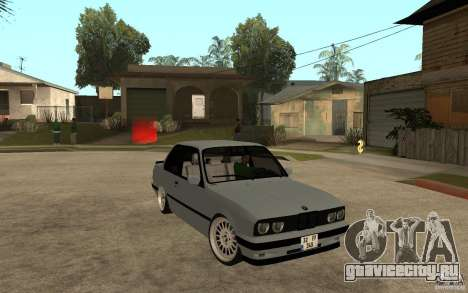 BMW E30 CebeL Tuning для GTA San Andreas вид сзади