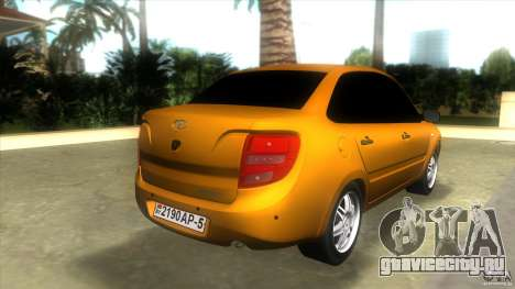 Lada Granta для GTA Vice City