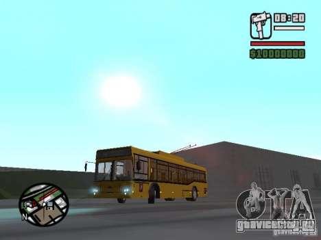 Сварз 6235 для GTA San Andreas вид слева