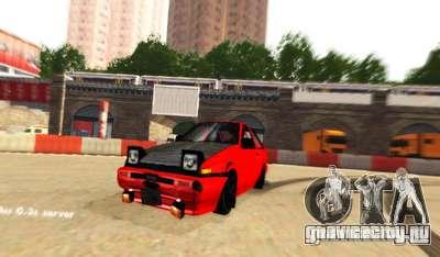 Лондон Drift для GTA San Andreas третий скриншот