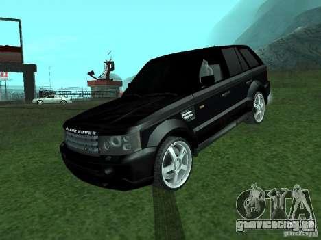 Land Rover Range Rover Sport для GTA San Andreas