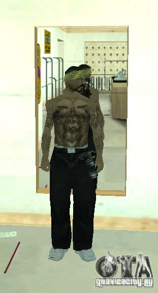 Vagos Gang Skins для GTA San Andreas четвёртый скриншот