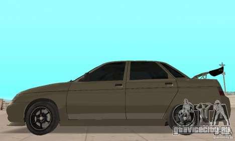 ВАЗ 21103 v.1.1 для GTA San Andreas вид сзади слева