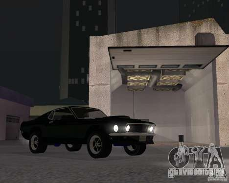 Ford Mustang Boss 1969 для GTA San Andreas