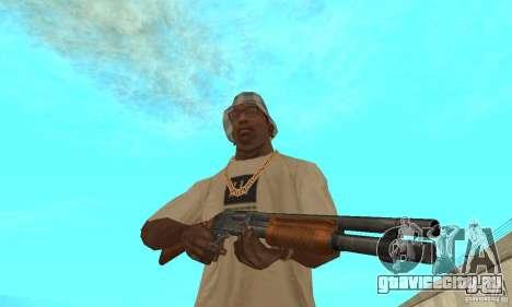M870 для GTA San Andreas третий скриншот