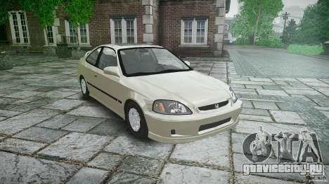 Honda Civic Coupe для GTA 4