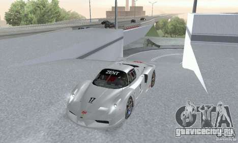 Ferrari FXX для GTA San Andreas вид справа