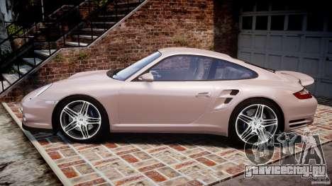 Porsche 911 (997) Turbo v1.0 для GTA 4 вид слева