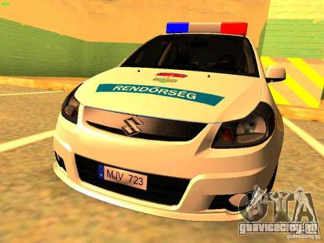 Suzuki SX-4 Hungary Police для GTA San Andreas