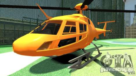 Helicopter From NFS Undercover для GTA 4 вид слева