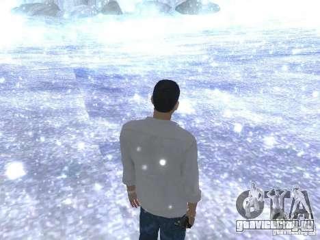 Snow MOD HQ V2.0 для GTA San Andreas четвёртый скриншот