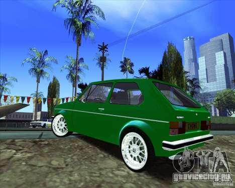 Volkswagen Golf MK 1 для GTA San Andreas вид сзади слева