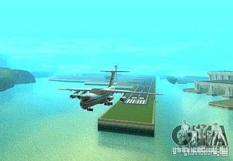 ИЛ 76М Аэрофлот для GTA San Andreas вид справа