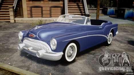 Buick Skylark Convertible 1953 v1.0 для GTA 4 вид слева