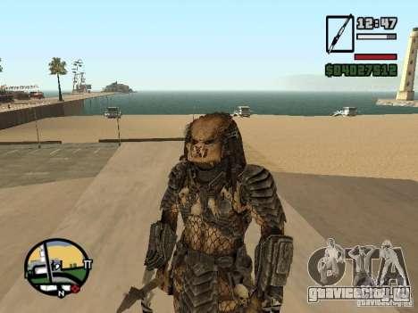 Predator Хищник для GTA San Andreas третий скриншот
