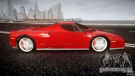 Ferrari Enzo для GTA 4 вид сбоку