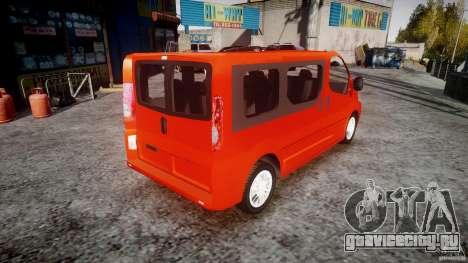 Renault Trafic для GTA 4 вид изнутри