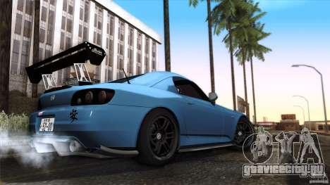 Honda S2000 JDM для GTA San Andreas вид сбоку