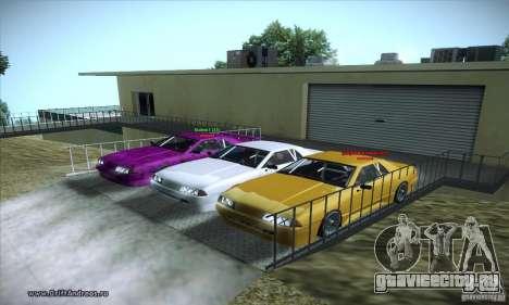 ENBSeries v5.0 Baby Blue для GTA San Andreas третий скриншот