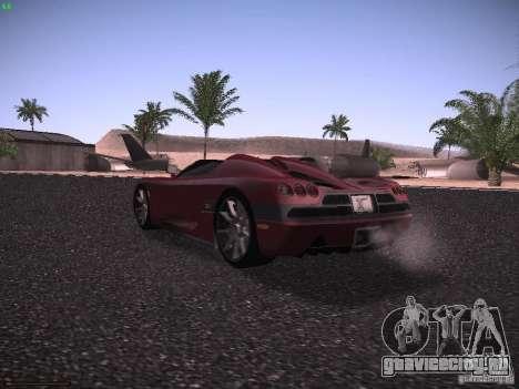 Koenigsegg CCX 2006 для GTA San Andreas вид справа