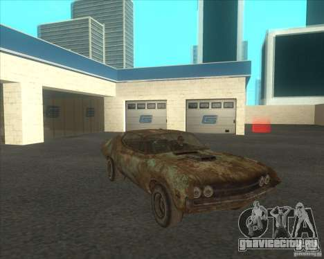 Ford Torino extreme rust 1970 для GTA San Andreas