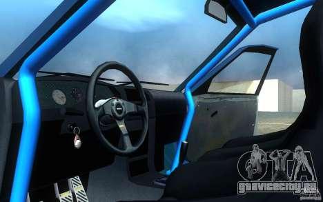 Nissan Pulsar GTI-R (RNN14) для GTA San Andreas вид изнутри