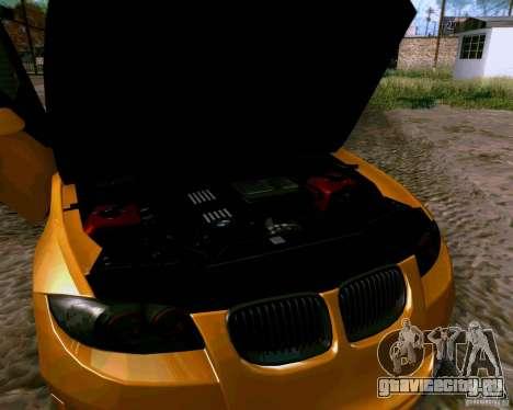 BMW 135 Tuning для GTA San Andreas вид изнутри