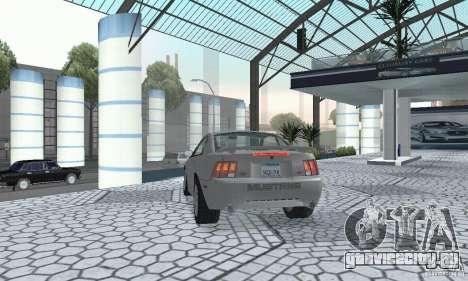 Ford Mustang GT 2003 для GTA San Andreas вид слева