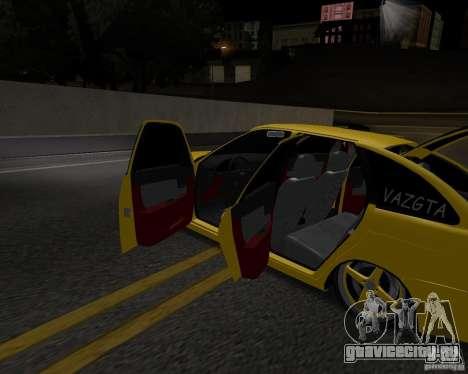 Lada Priora Хэтчбек для GTA San Andreas вид справа