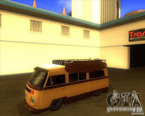 Volkswagen Kombi Classic Retro для GTA San Andreas