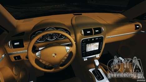 Porsche Cayenne Turbo 2003 для GTA 4 вид сзади