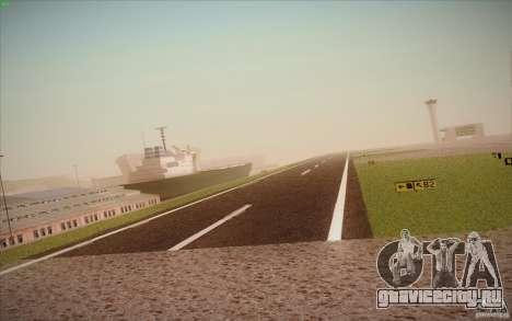 New San Fierro Airport v1.0 для GTA San Andreas восьмой скриншот