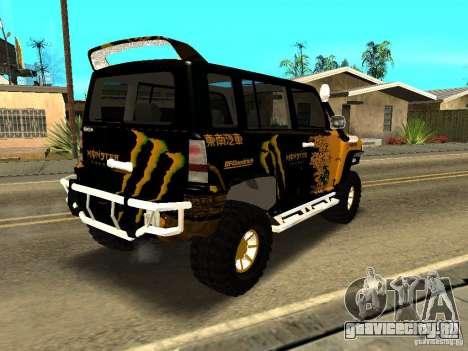 Scion xB OffRoad для GTA San Andreas вид справа