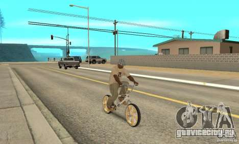 Spin Wheel BMX v2 для GTA San Andreas вид справа